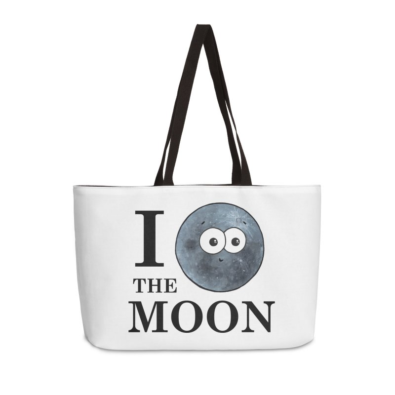 I Heart The Moon Accessories Weekender Bag Bag by Adrienne Body
