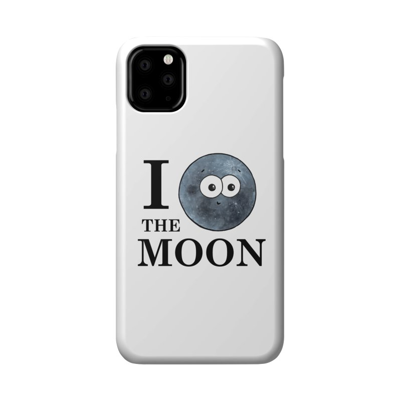 I Heart The Moon Accessories Phone Case by Adrienne Body
