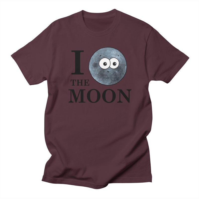 I Heart The Moon Women's Regular Unisex T-Shirt by Adrienne Body