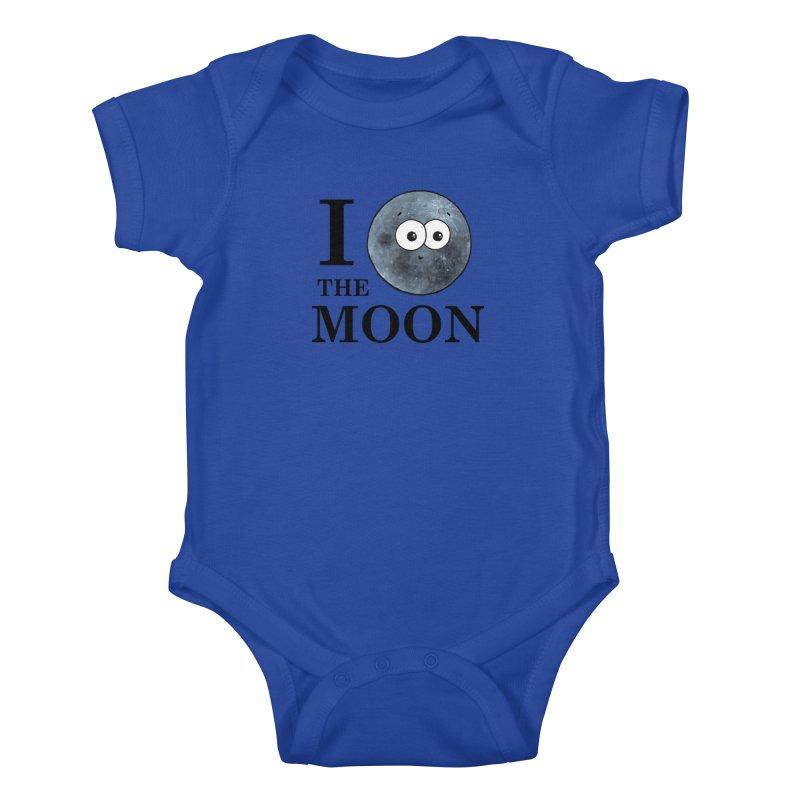 I Heart The Moon Kids Baby Bodysuit by Adrienne Body