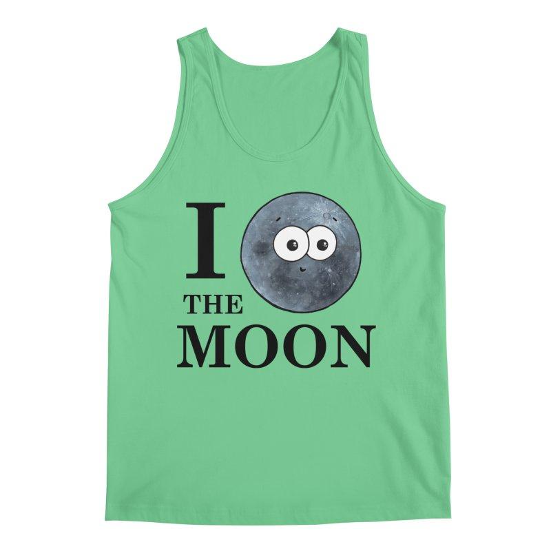I Heart The Moon Men's Tank by Adrienne Body