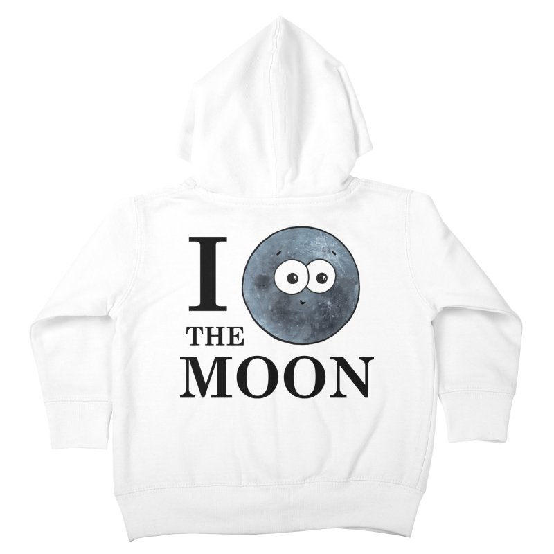 I Heart The Moon Kids Toddler Zip-Up Hoody by Adrienne Body