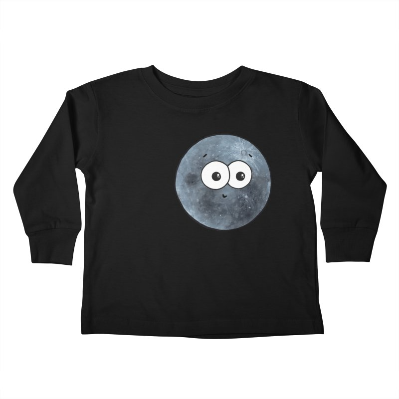 I Heart The Moon Kids Toddler Longsleeve T-Shirt by Adrienne Body