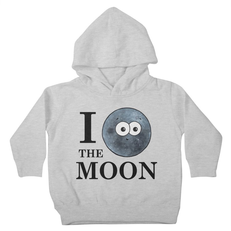 I Heart The Moon Kids Toddler Pullover Hoody by Adrienne Body