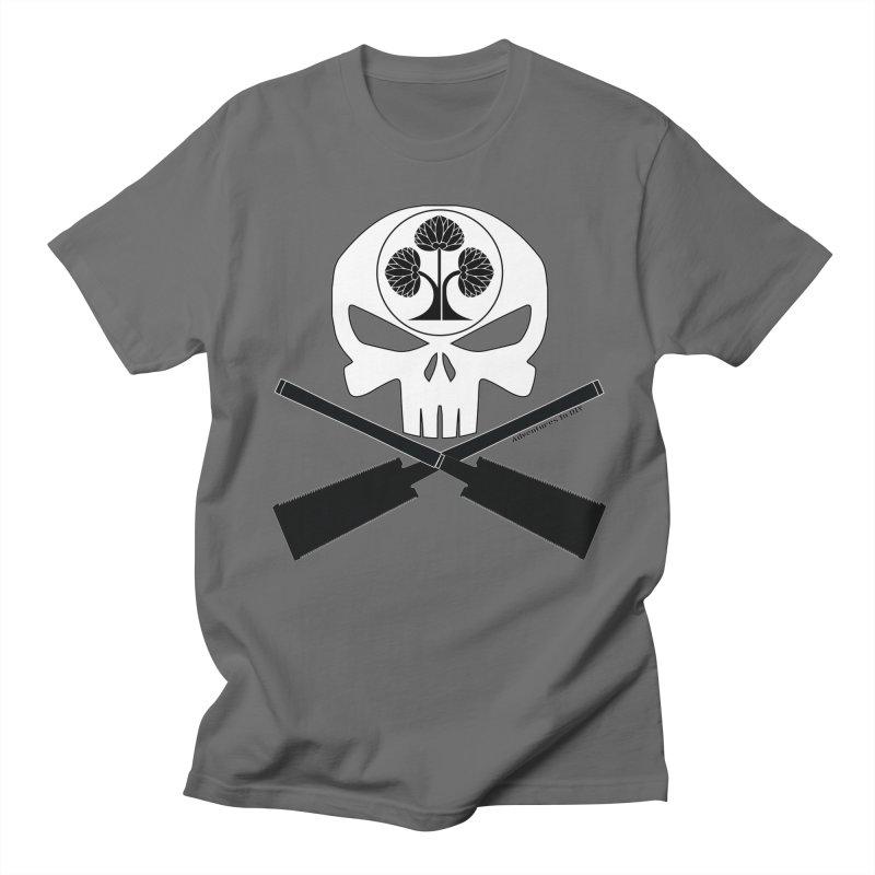 Skull and Ryoba Crossbones Men's T-Shirt by Adventures In DIY-Stuff 4 Craftspeople