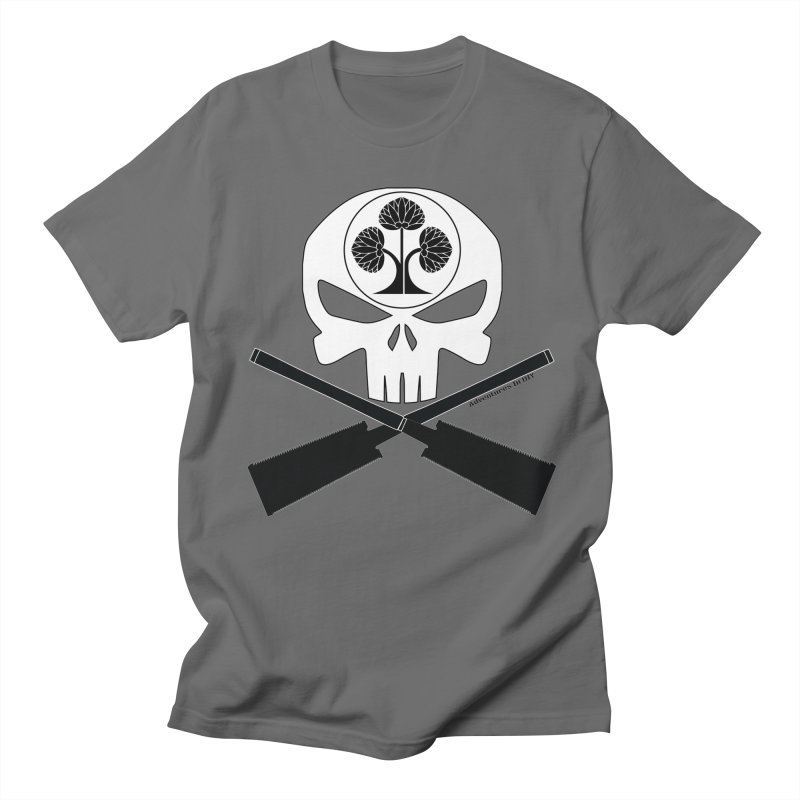 Skull and Ryoba Crossbones Men's T-Shirt by Adventures In DIY-Stuff 4 Craftspeople