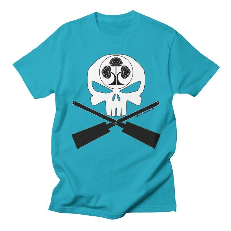 Skull and Ryoba Crossbones Women's Regular Unisex T-Shirt by Adventures In DIY-Stuff 4 Craftspeople