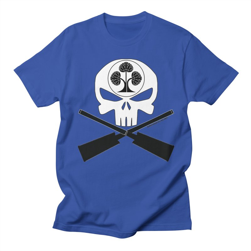 Skull and Ryoba Crossbones Men's Regular T-Shirt by Adventures In DIY-Stuff 4 Craftspeople
