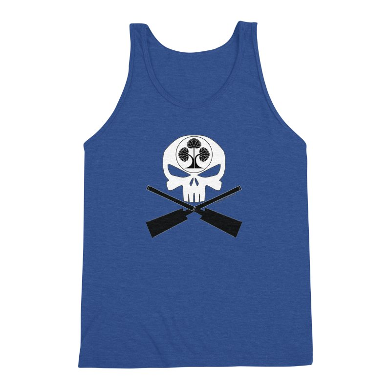 Skull and Ryoba Crossbones Men's Triblend Tank by Adventures In DIY-Stuff 4 Craftspeople