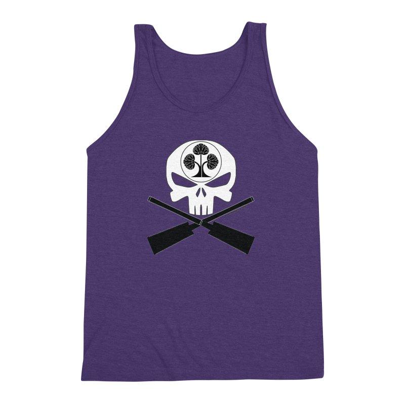 Skull and Ryoba Crossbones Men's Triblend Tank by Adventures In DIY-Stuff 4 Craftspeople