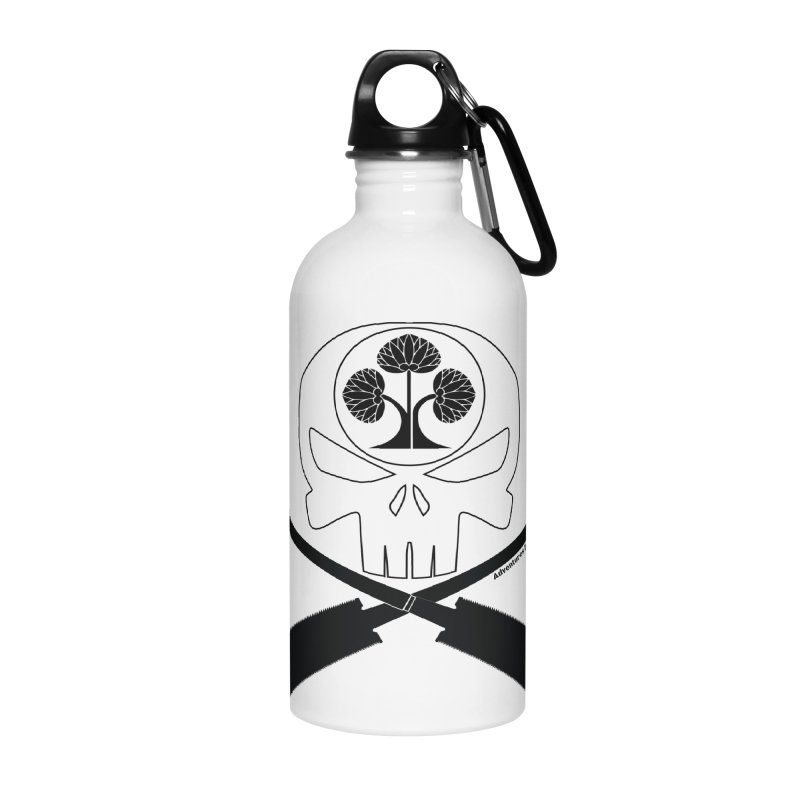 Skull and Ryoba Crossbones Accessories Water Bottle by Adventures In DIY-Stuff 4 Craftspeople