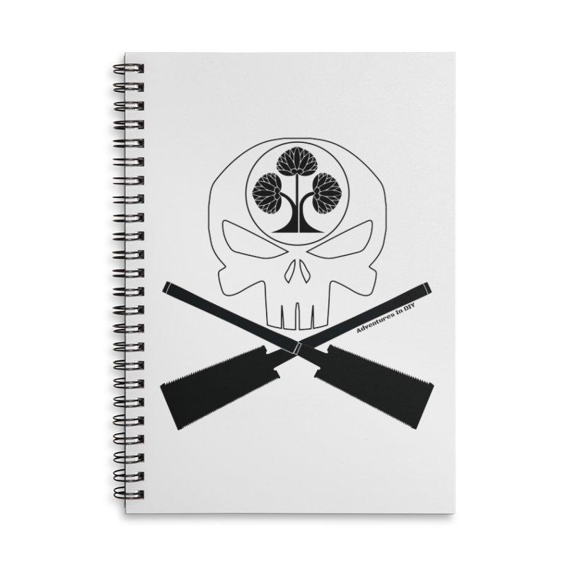 Skull and Ryoba Crossbones Accessories Notebook by Adventures In DIY-Stuff 4 Craftspeople