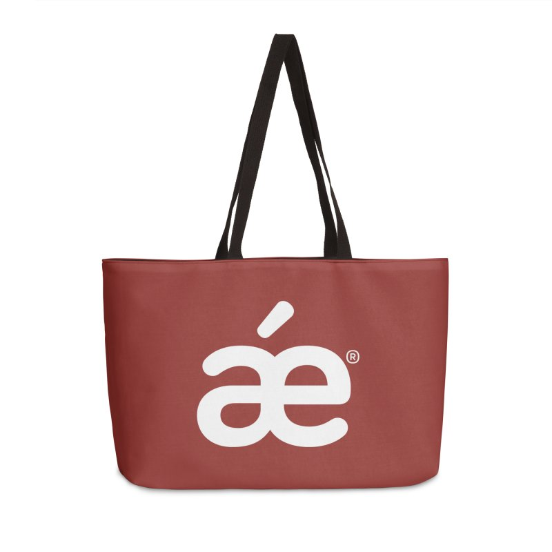 æ burnt umber Accessories Bag by æ___bags™