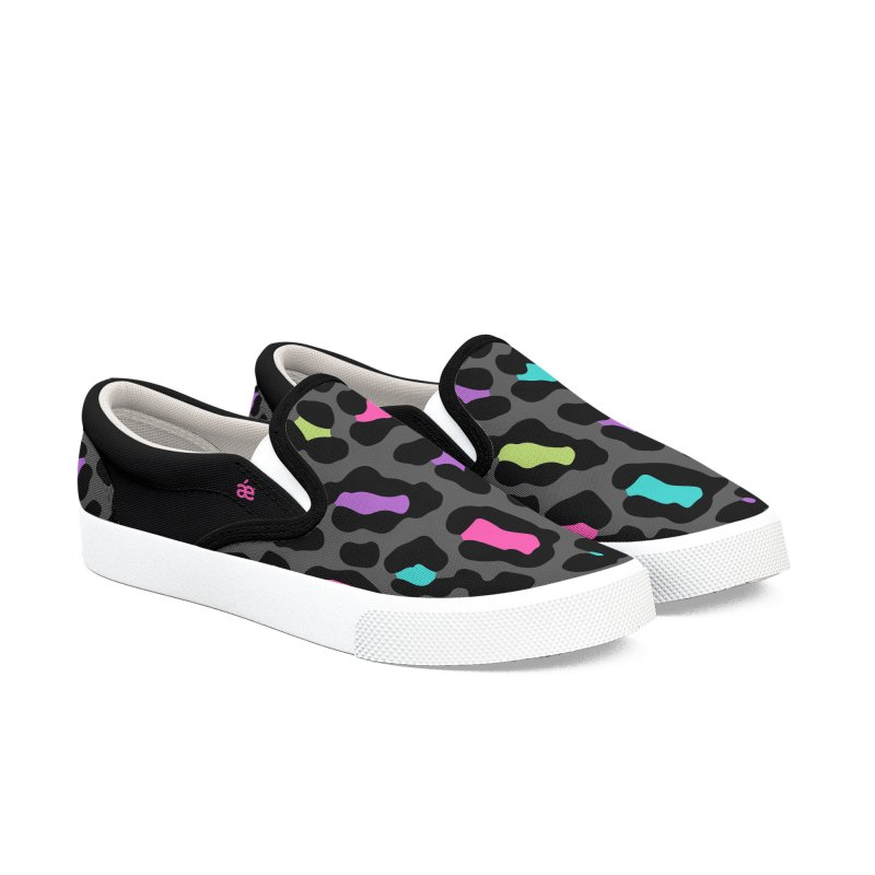 Leopard colors Women's Slip-On Shoes by æ___bags™