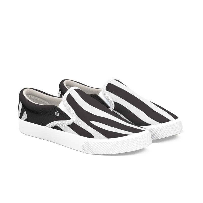 Zebra Women's Slip-On Shoes by æ___bags™