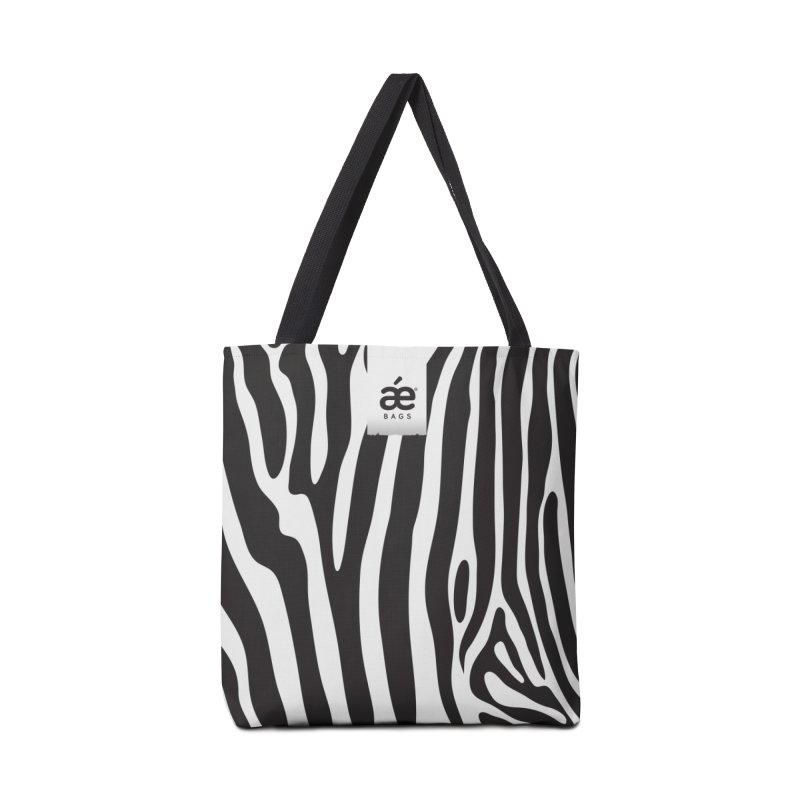 Zebra in Tote Bag by æ___bags™