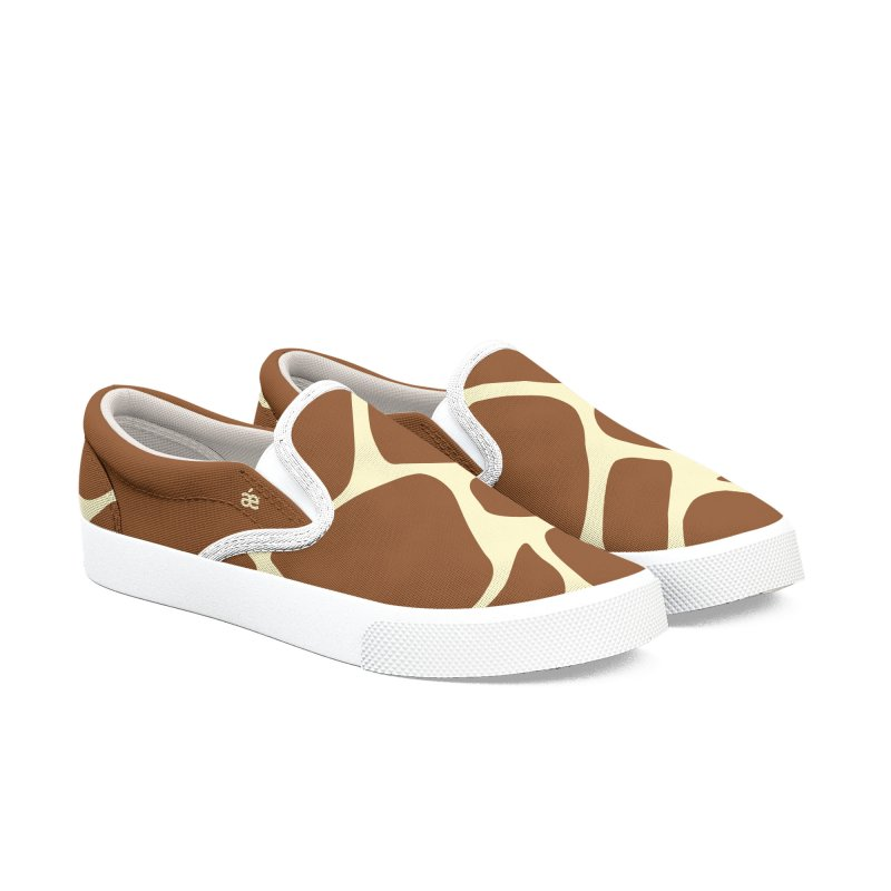 Giraffe Women's Slip-On Shoes by æ___bags™