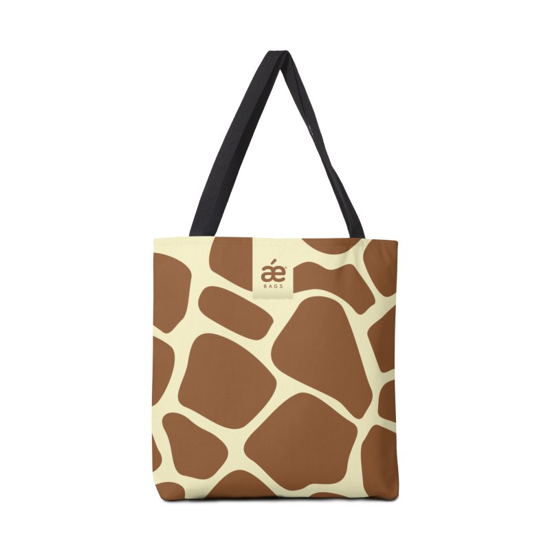 Giraffe in Tote Bag by æ___bags™