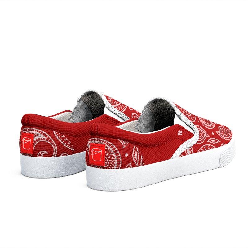 Bandana Red Women's Shoes by æ___bags™