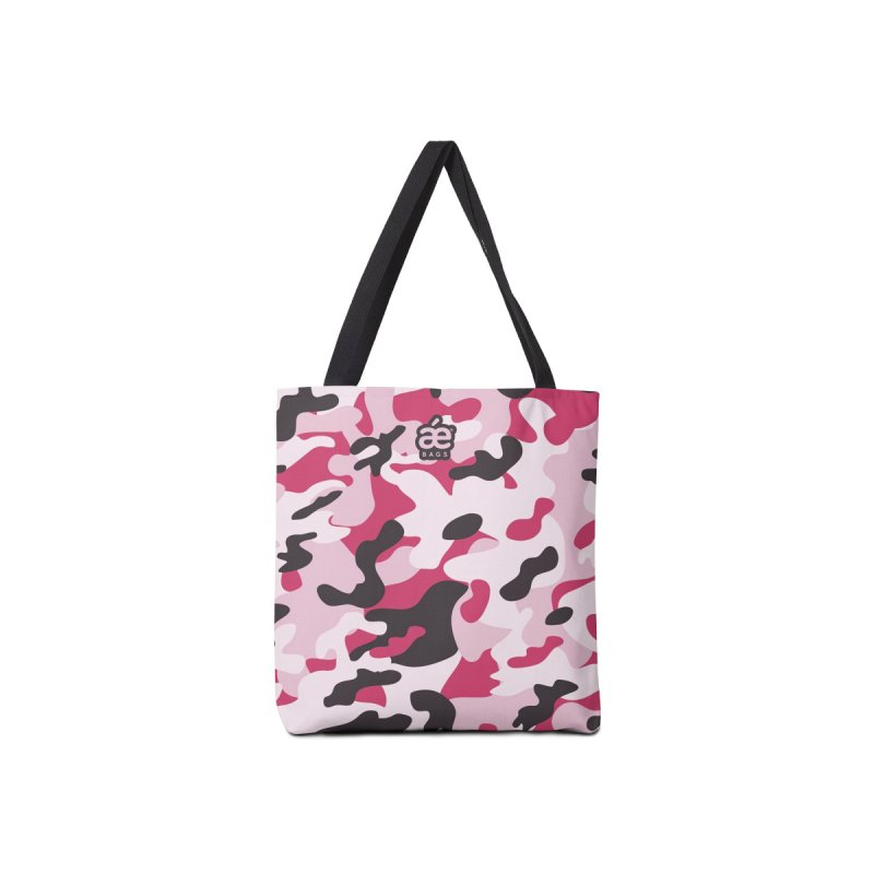 Camo Pink Accessories Bag by æ___bags™