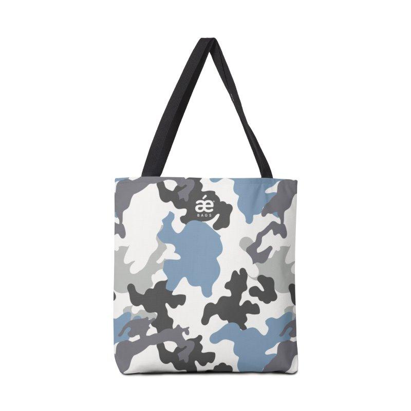 Camo Blue Accessories Bag by æ___bags™