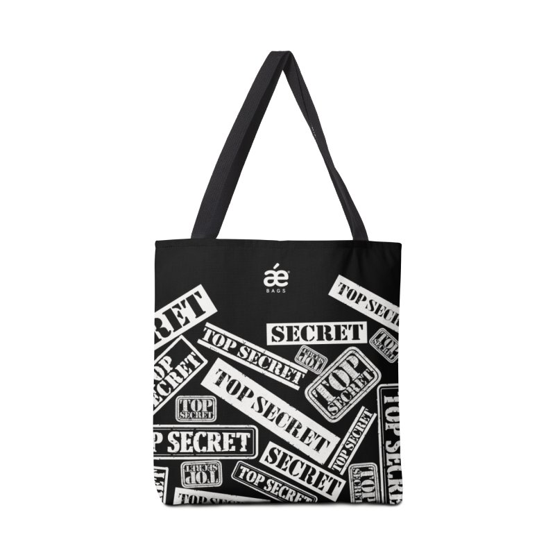 Top Secret Accessories Tote Bag Bag by æ___bags™