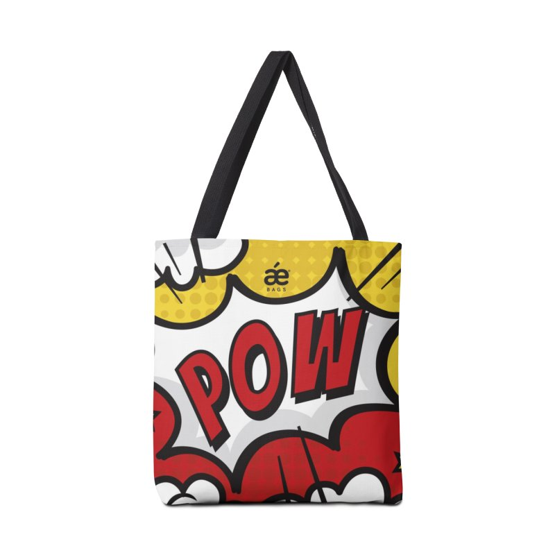 Pow comic Accessories Tote Bag Bag by æ___bags™