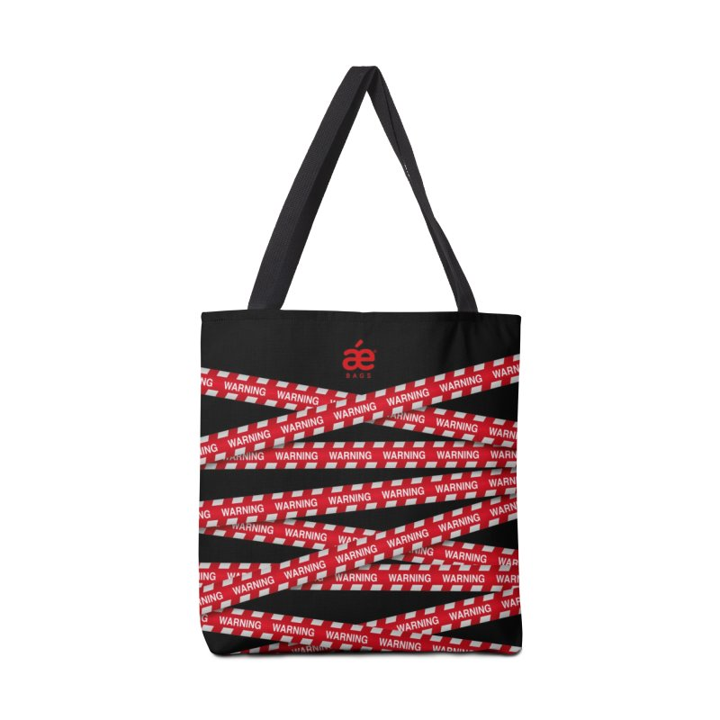 Warning line Accessories Bag by æ___bags™