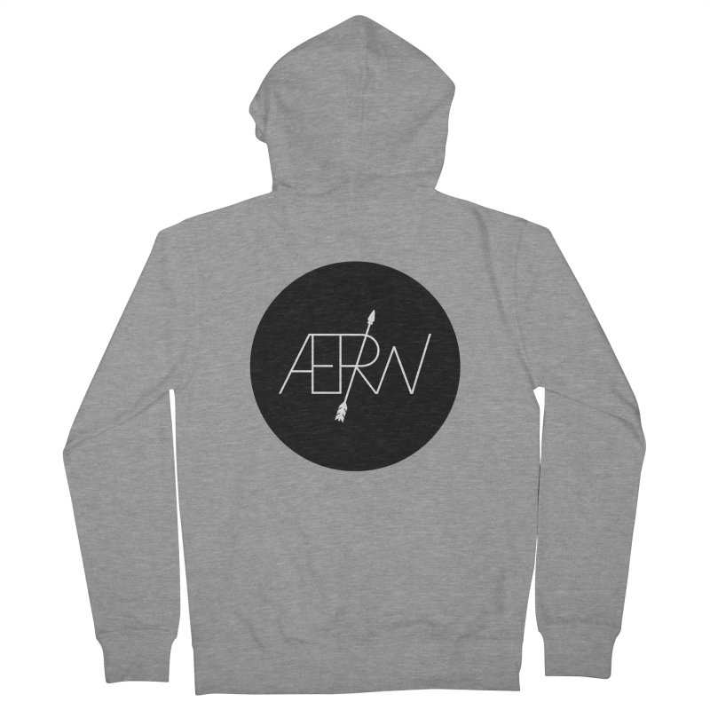 AERW - Minilogo Men's French Terry Zip-Up Hoody by AERW