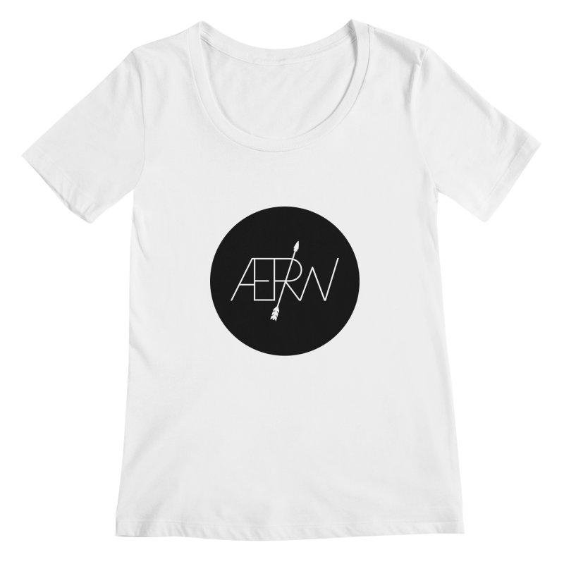 AERW - Minilogo Women's Scoopneck by AERW