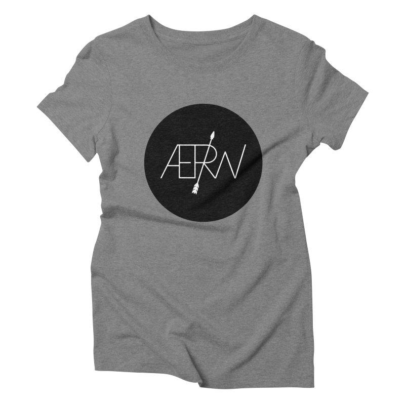 AERW - Minilogo Women's Triblend T-Shirt by AERW