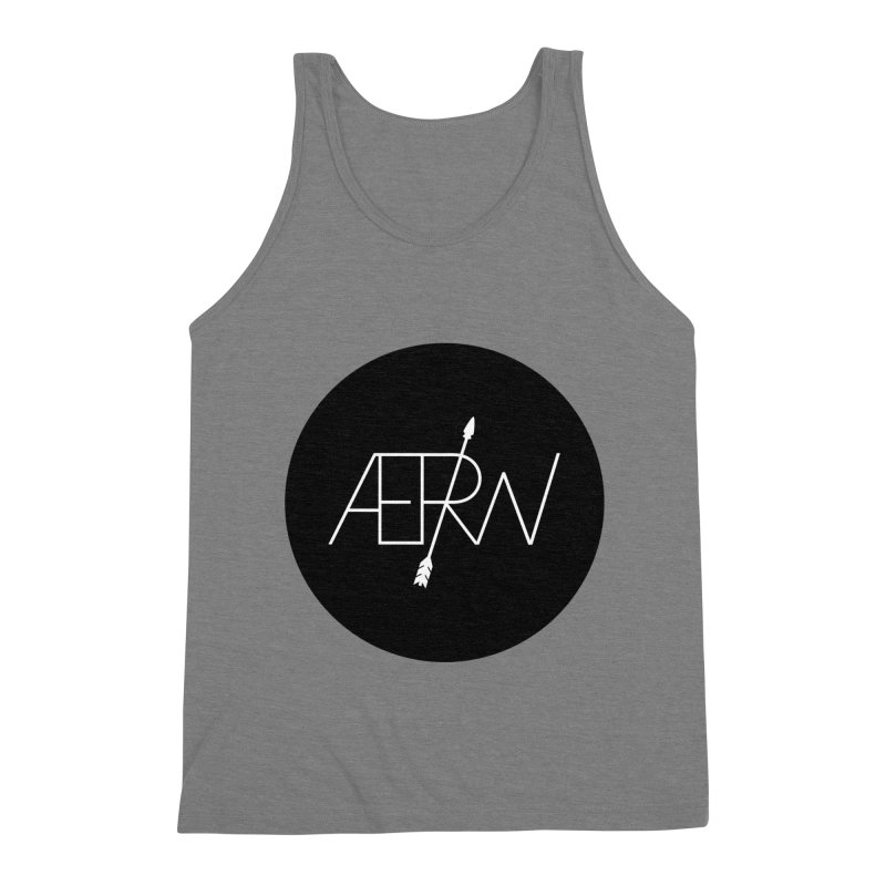 AERW - Minilogo Men's Triblend Tank by AERW