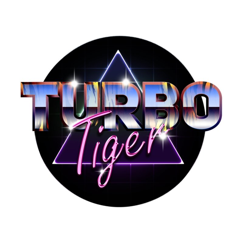 Turbo Tiger Men's T-Shirt by AERW