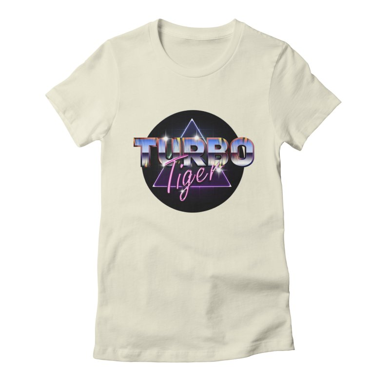 Turbo Tiger Women's Fitted T-Shirt by AERW