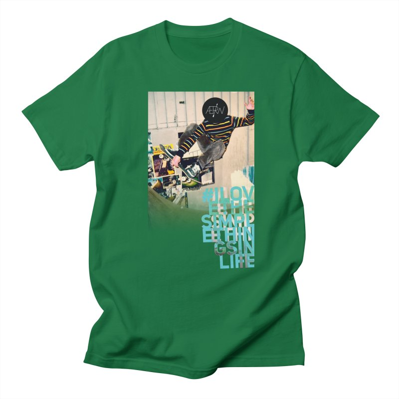 Love The Simple Things Men's T-shirt by AERW