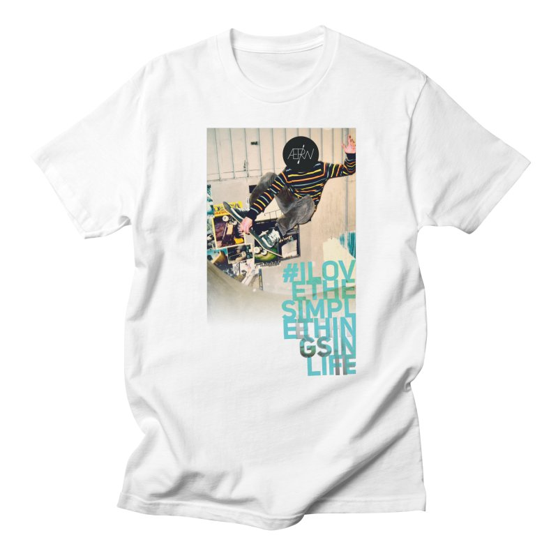 Love The Simple Things Men's Regular T-Shirt by AERW