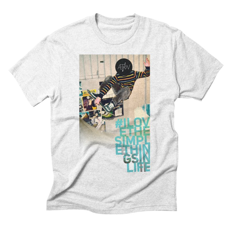 Love The Simple Things Men's Triblend T-shirt by AERW