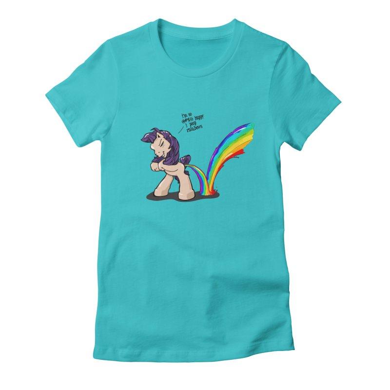 I'm so happy Women's T-Shirt by AERW