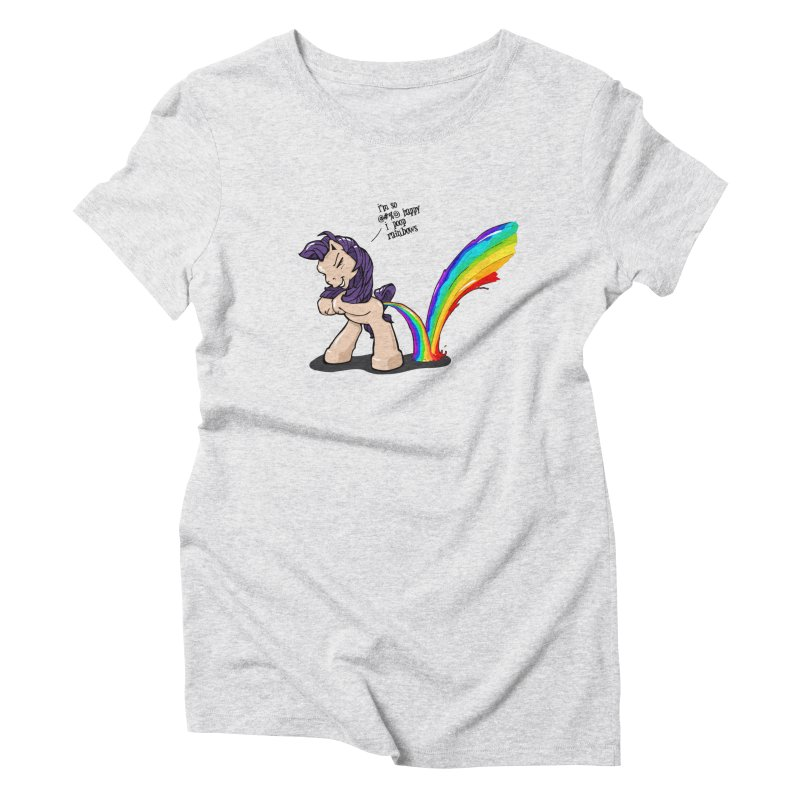 I'm so happy Women's Triblend T-shirt by AERW