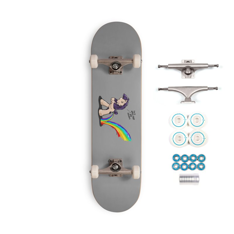 I'm so happy Accessories Skateboard by AERW
