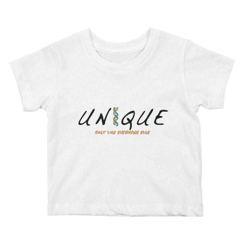 Unique Kids Baby T-Shirt by AFDAA Shop