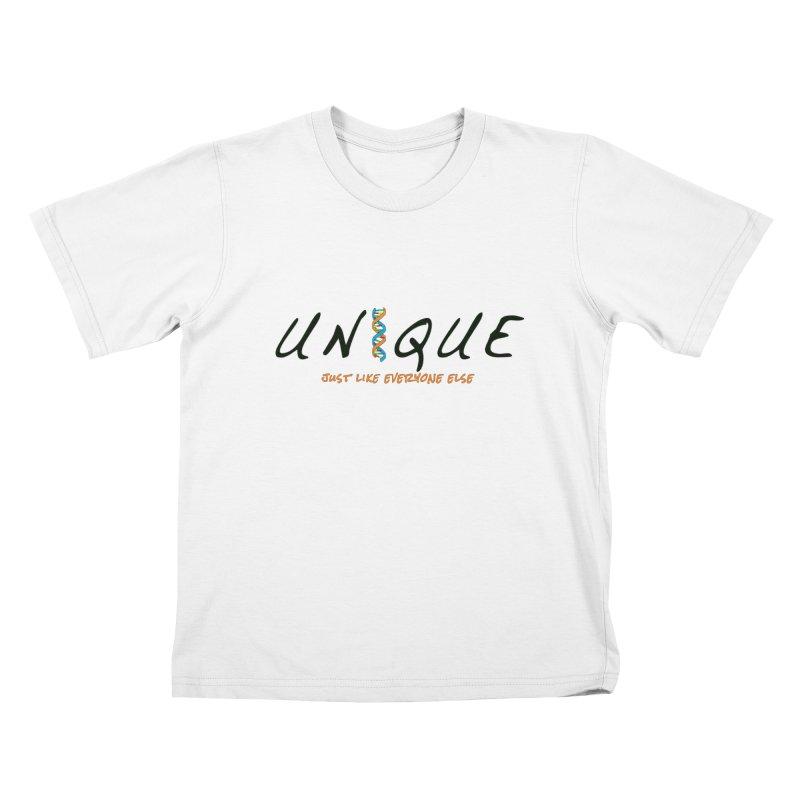 Unique Kids T-Shirt by AFDAA Shop
