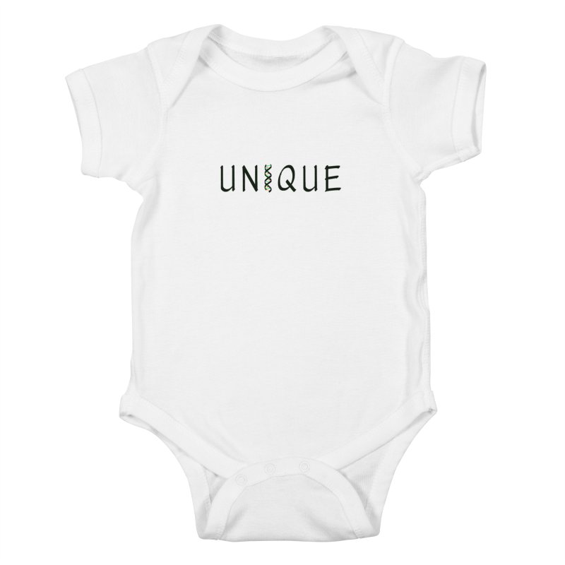 Seriously Unique Kids Baby Bodysuit by AFDAA Shop
