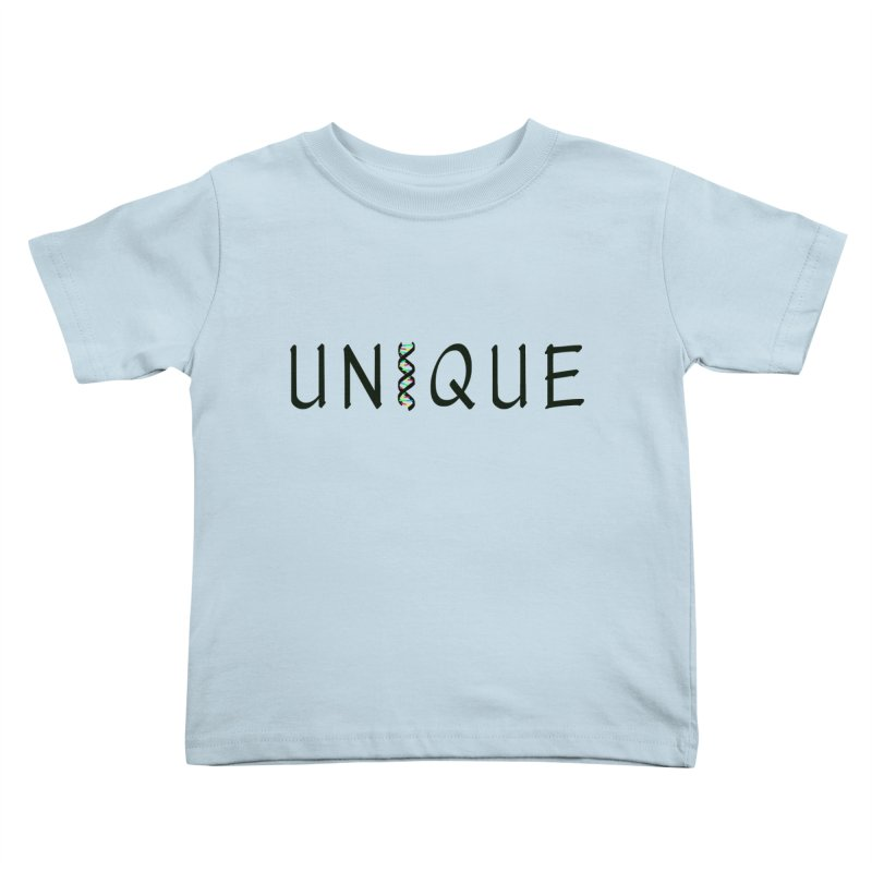 Seriously Unique Kids Toddler T-Shirt by AFDAA Shop