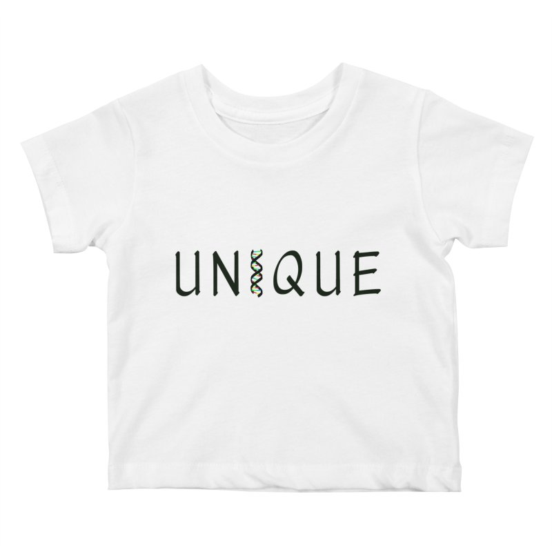 Seriously Unique Kids Baby T-Shirt by AFDAA Shop