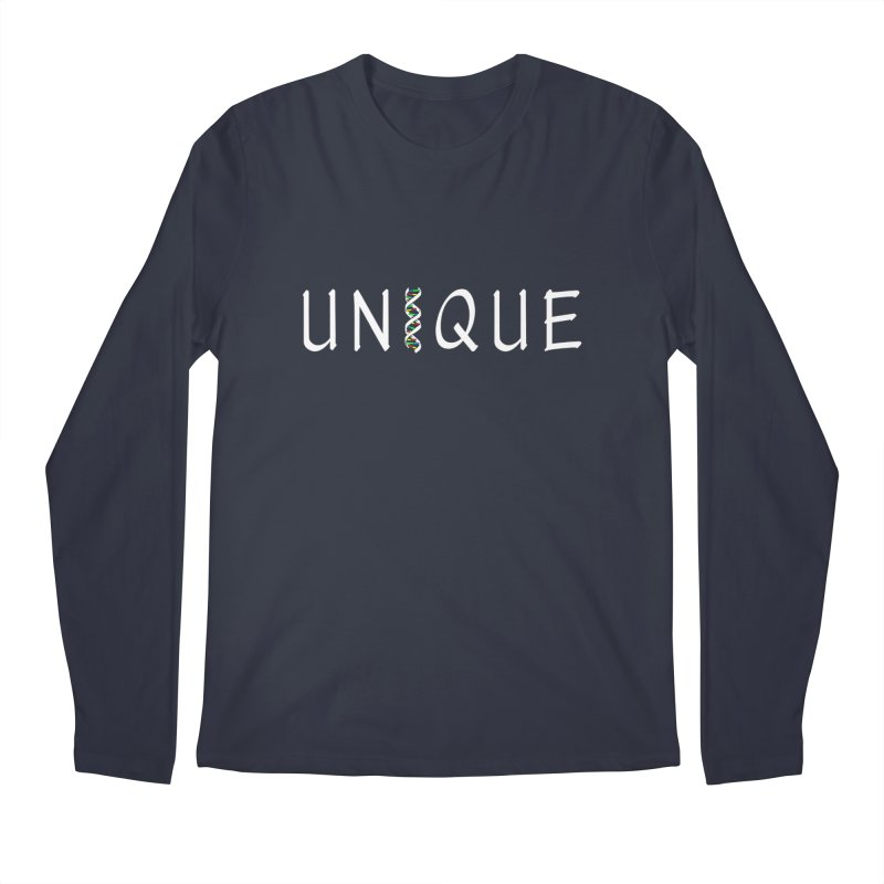 Seriously Unique, Dark Men's Longsleeve T-Shirt by AFDAA Shop