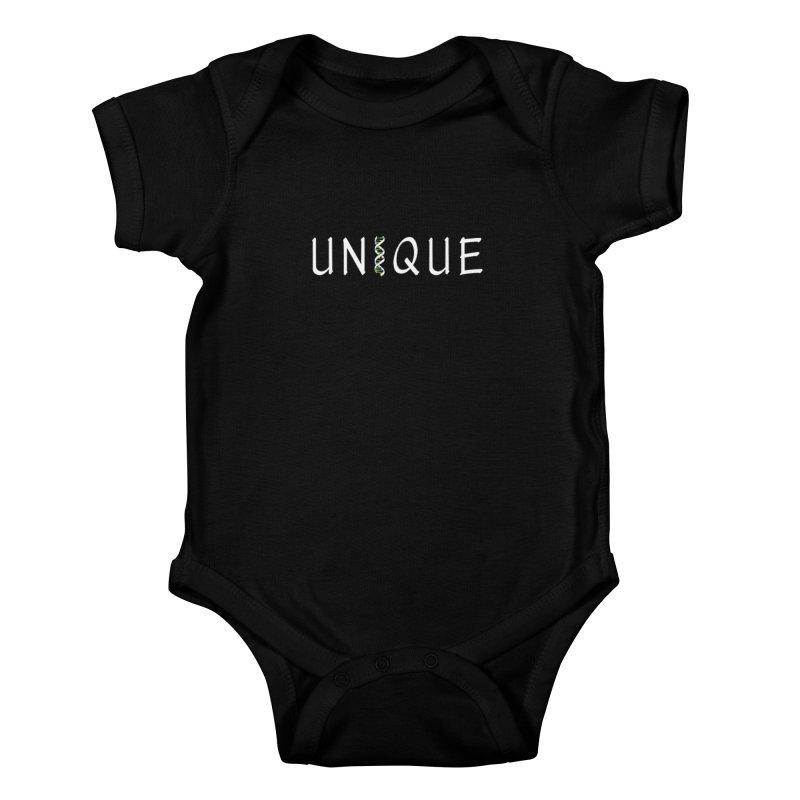 Seriously Unique, Dark Kids Baby Bodysuit by AFDAA Shop