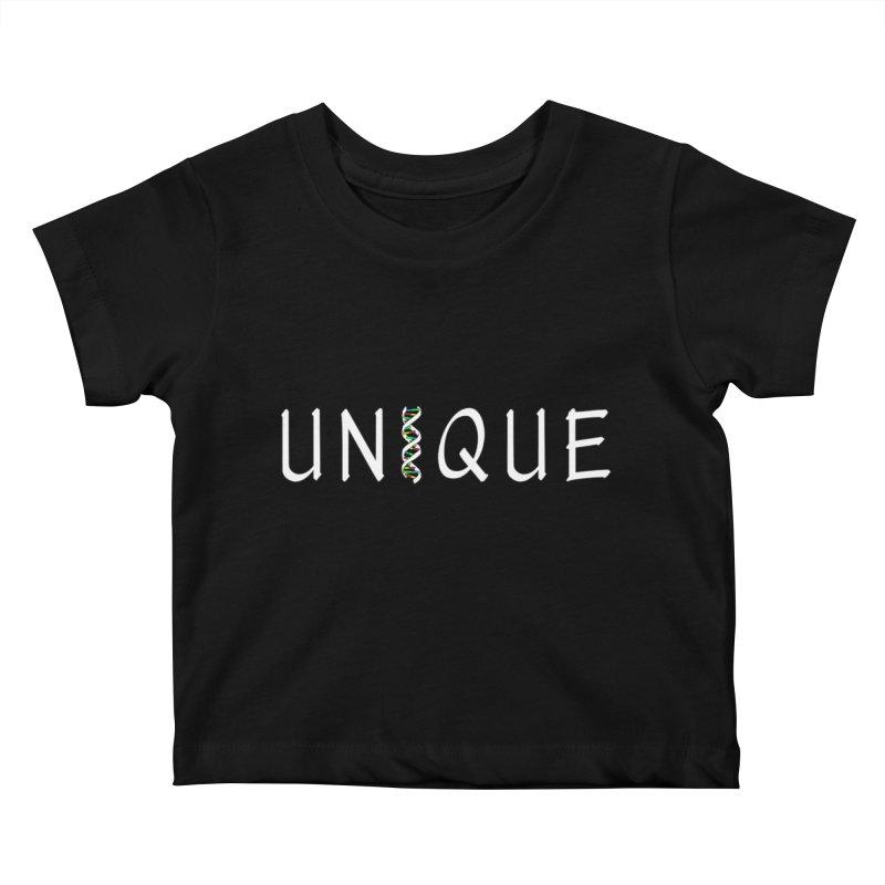 Seriously Unique, Dark Kids Baby T-Shirt by AFDAA Shop