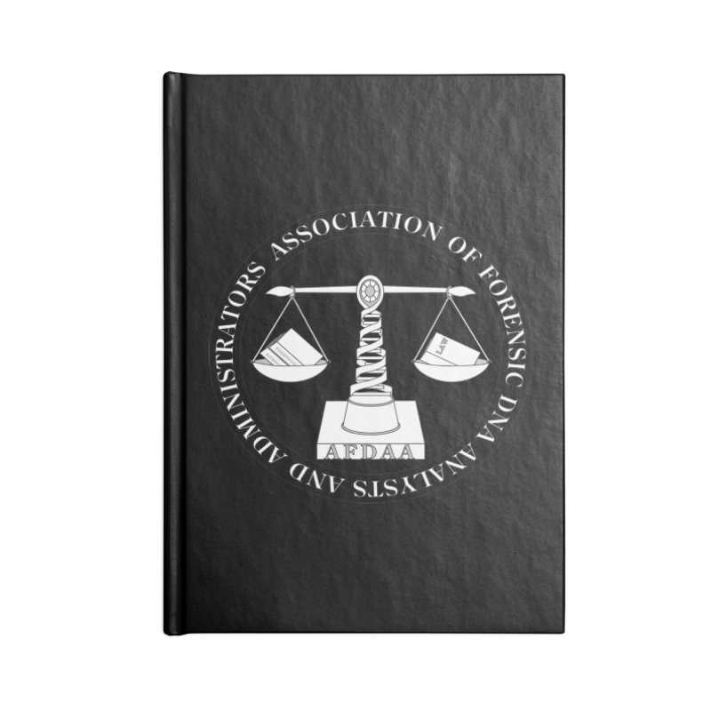 AFDAA Official Logo Accessories Notebook by AFDAA Shop