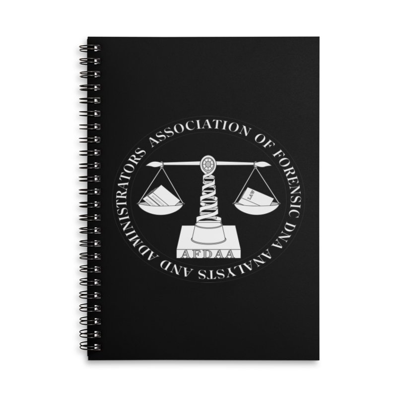 AFDAA Official Logo in Lined Spiral Notebook by afdaa's Artist Shop